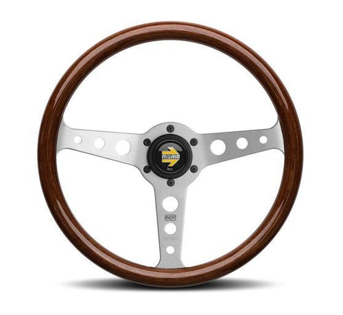 MOMO Indy Steering Wheel mahogany wood
