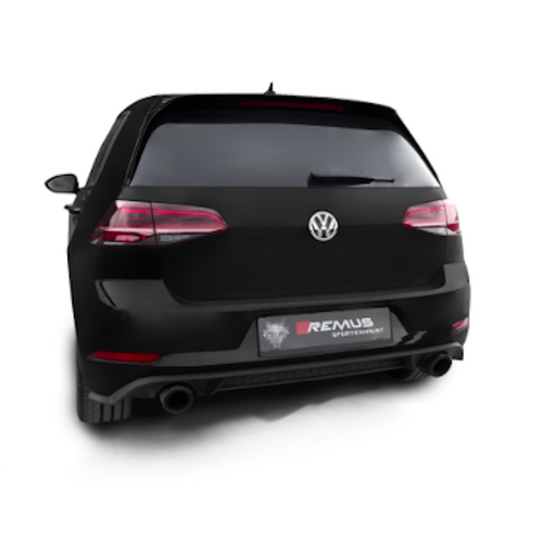 VW Golf Mk7 GTI - Remus Cat-Back Exhaust System - 2017-