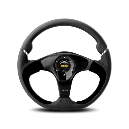 MOMO Nero Steering Wheel alcantara