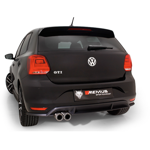 VW Polo 6R - Remus Exhaust System