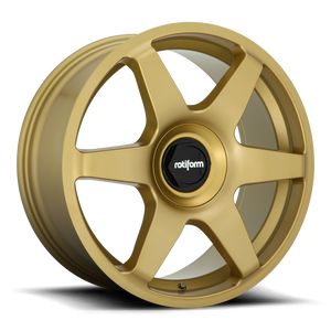 Rotiform SIX - 19 Inch Wheel - Gold Limited Edition