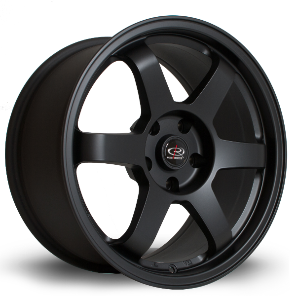 Rota Grid 17 Inch Alloy Wheels - Flat Black