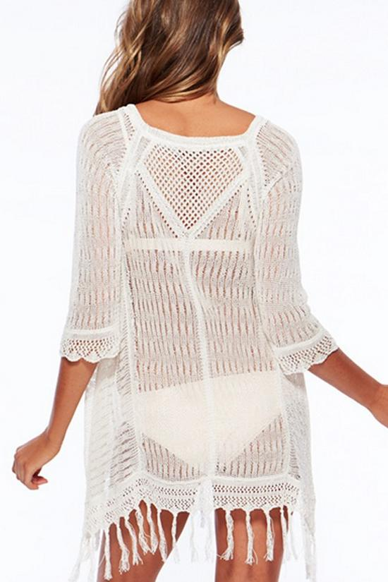 Crochet Tunic Cover Up BW106