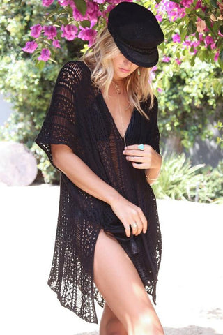 Crochet Tunic Coverup BW104