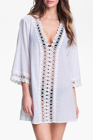 Plunging Tunic Cover Up BW103