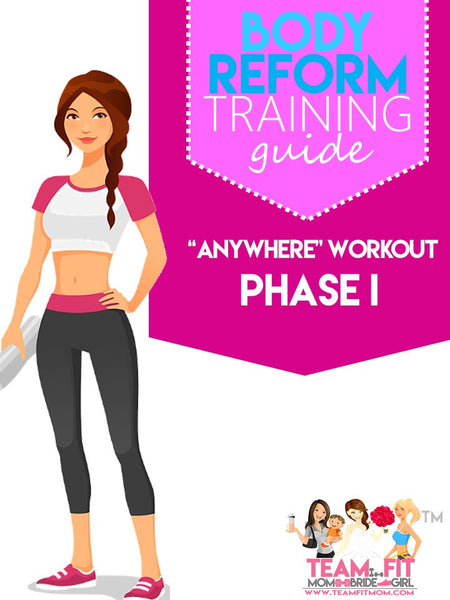 "The ""Anywhere"" Fitness & Nutrition Program, Phase I"
