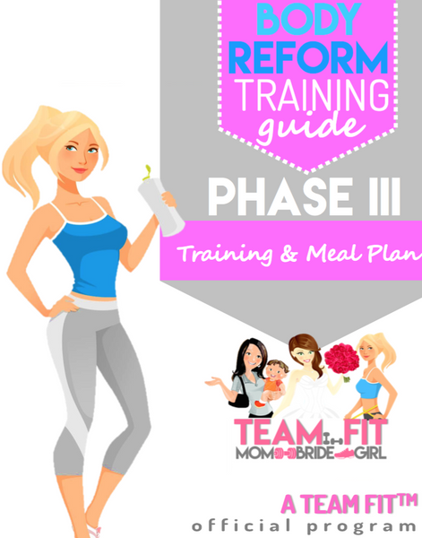 12 Week Phase III Training & Nutrion Plan