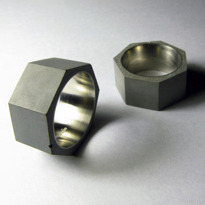 Concrete Ring Collection
