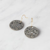 Concrete Earrings - Circle