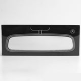 Black Notebook Rearview Mirror