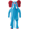 The Nonlife Zoo Doll with Shoulder Bag Elephant
