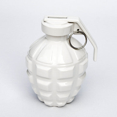 A Love Grenade Coin Bank