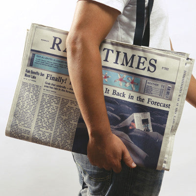 Rain Times - Newspaper Bag