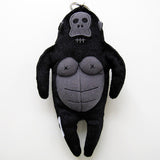 The Nonlife Zoo Keychain with Tote Bag Gorilla