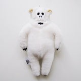 The Nonlife Zoo Keychain with Tote Bag Polar Bear