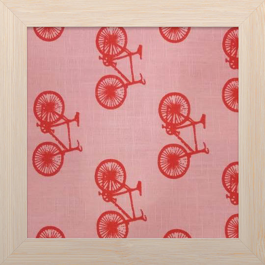 Bicycle Print Mul Cotton Fabrics 249/meter