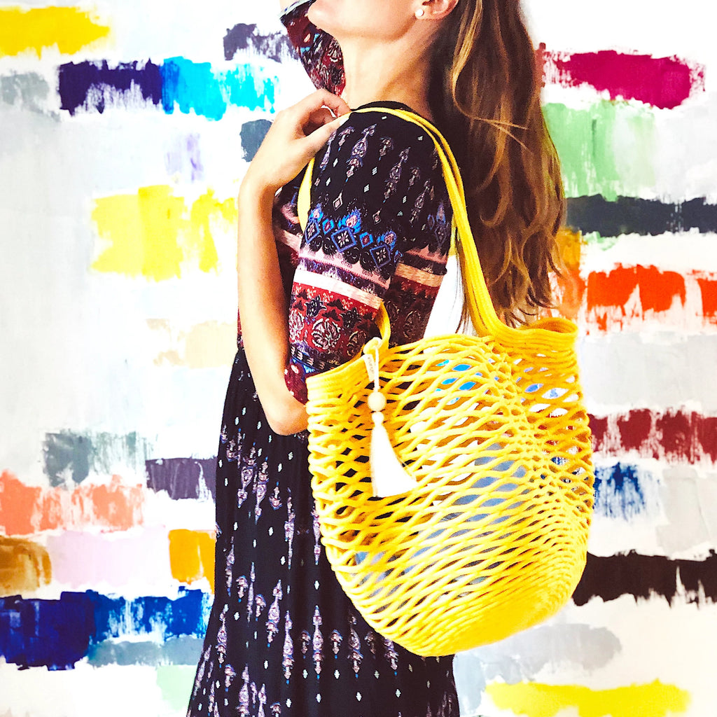 Net Bag - Yellow