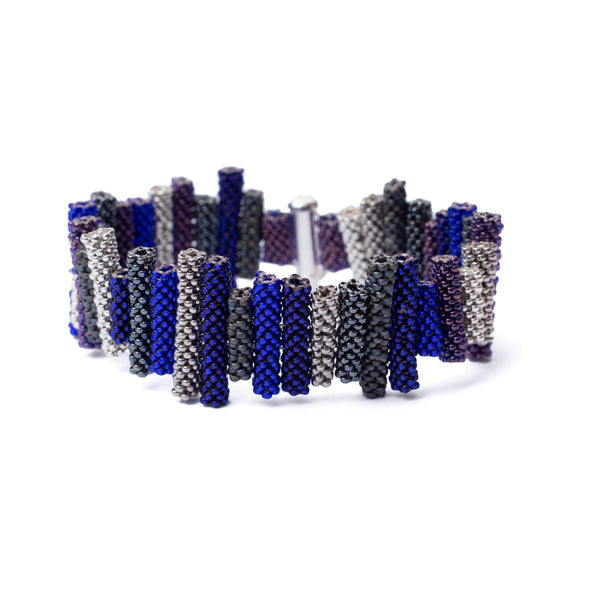 Iona Bracelet - Shades of Blue