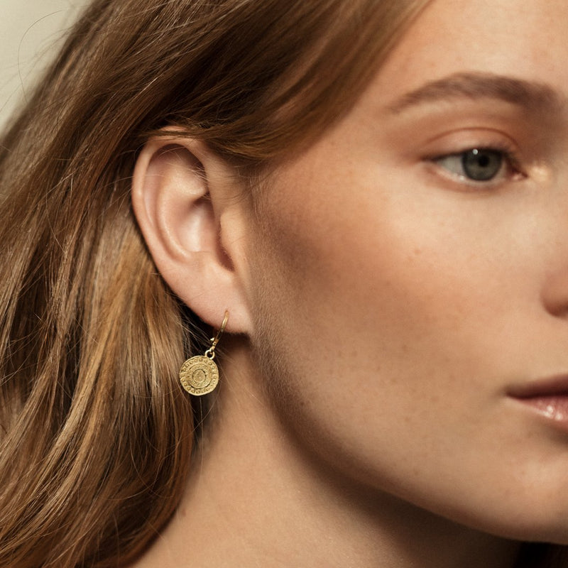 Agapé Studio Alba Earrings jewelry gold