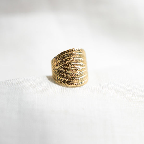 Agapé Studio Athénaïs Ring jewelry gold