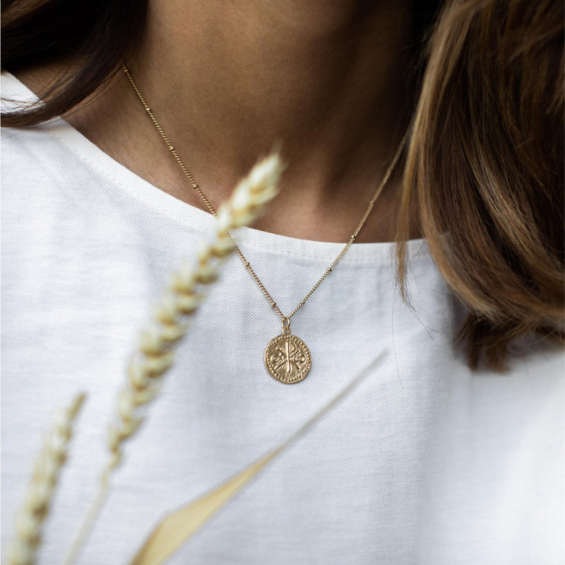 Agapé Studio Calliste Necklace jewelry gold