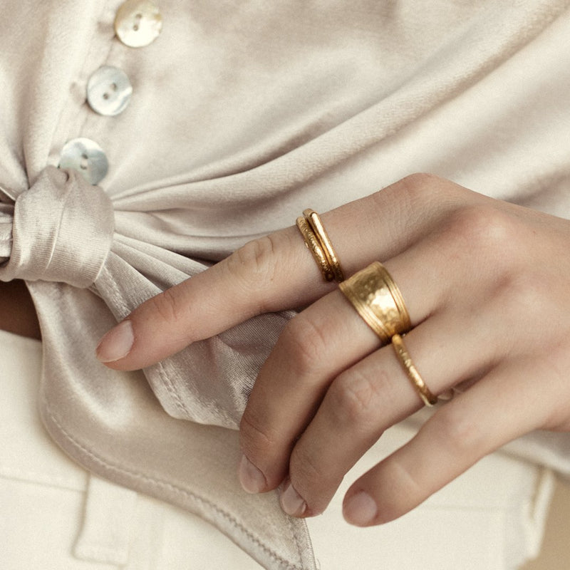 Agapé Studio Cléo Ring jewelry gold