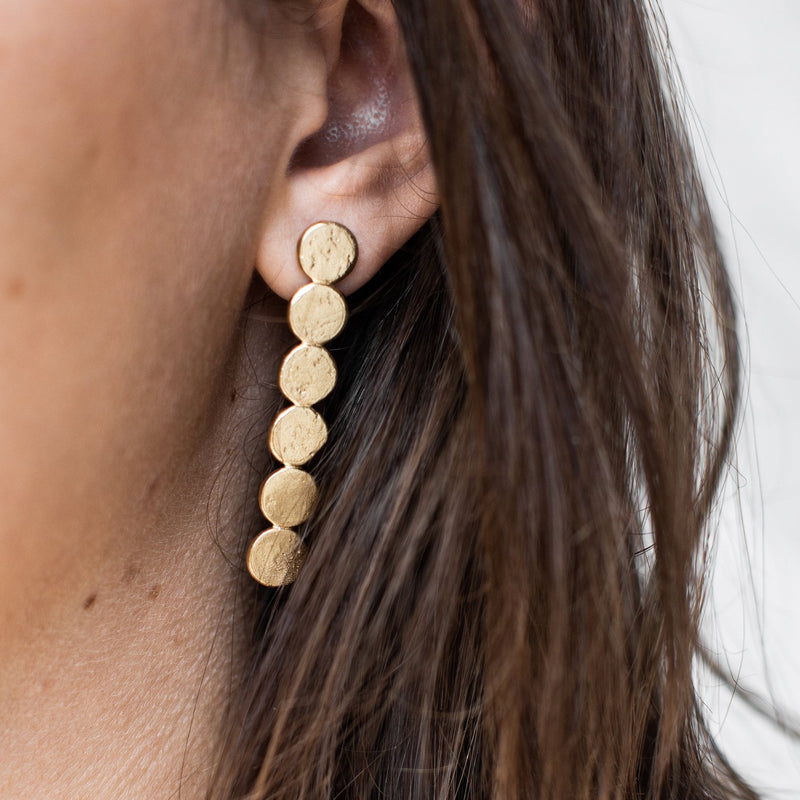 Agapé Studio Hector Earrings jewelry gold