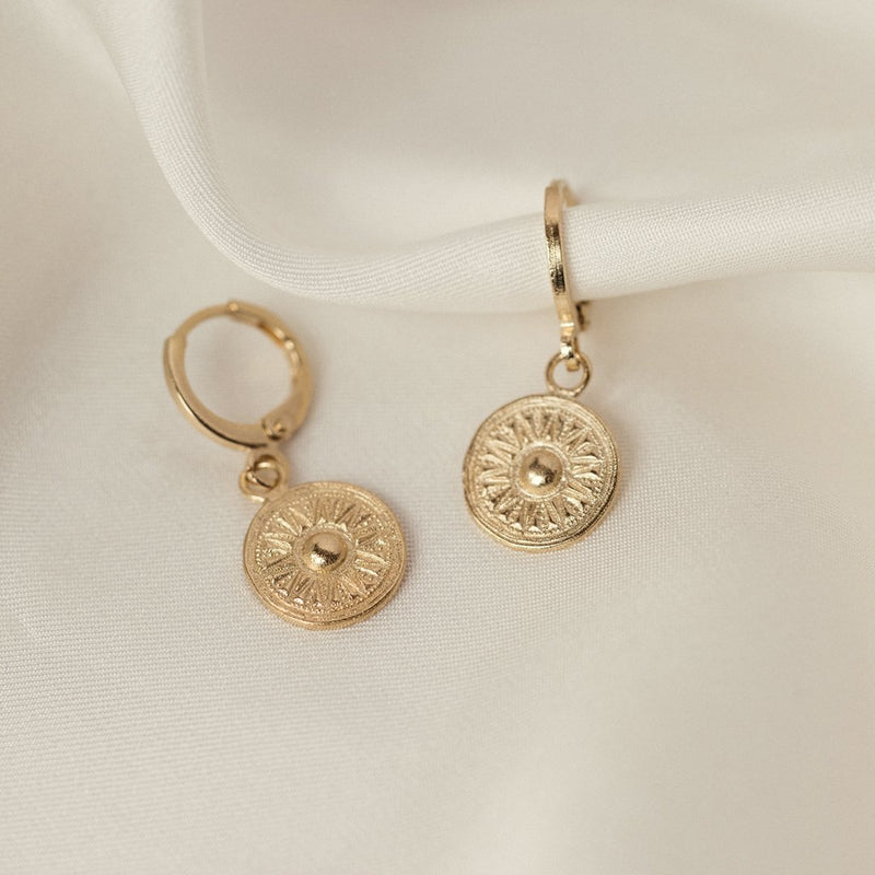 Agapé Studio Isis earrings jewelry gold