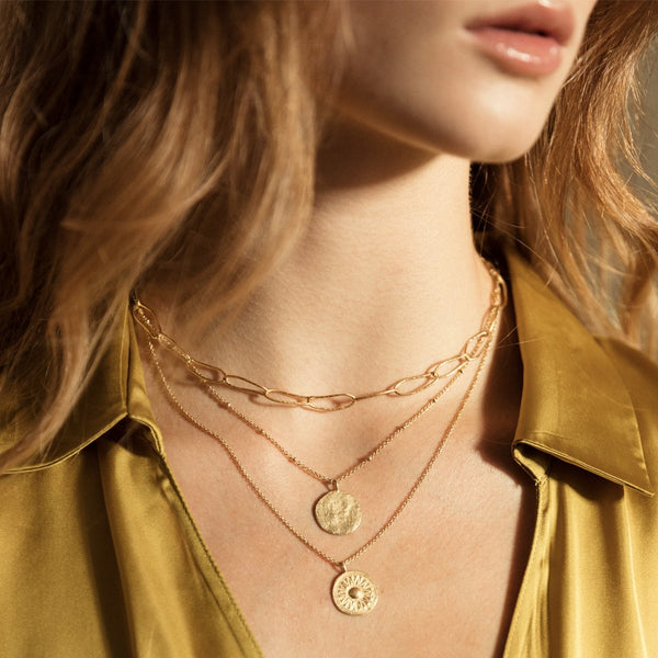Agapé Studio Isis Necklace jewelry gold