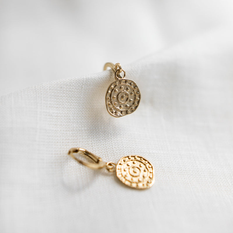 Agapé Studio Palmyre Earrings jewelry gold