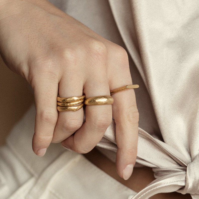 Agapé Studio Zélie Ring jewelry gold
