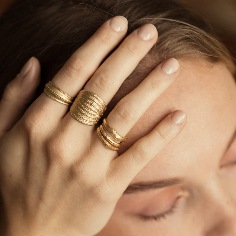 Agapé Studio Zéphir Ring jewelry gold