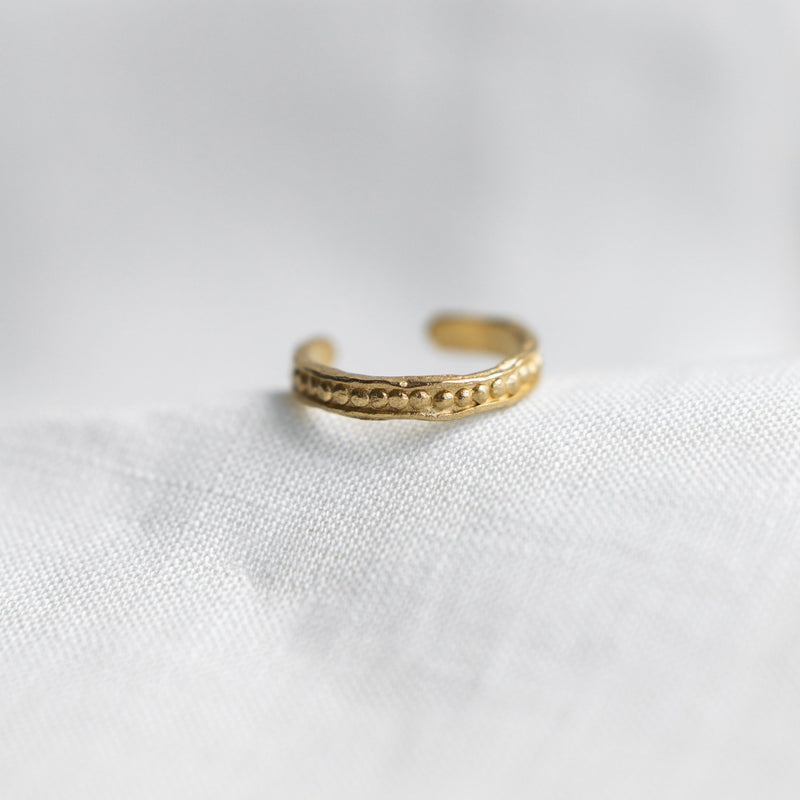 Agapé Studio Zita Ring jewelry gold