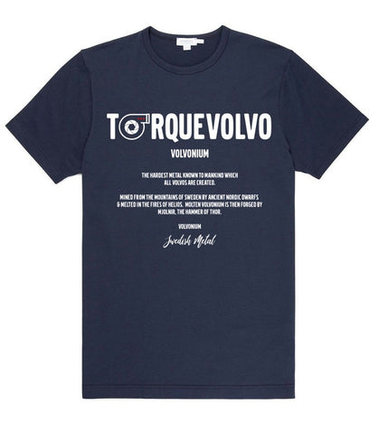 TorqueVolvo Volvonium Dark Blue  (Meaning of Volvonium, the stuff which makes your Volvo hard)
