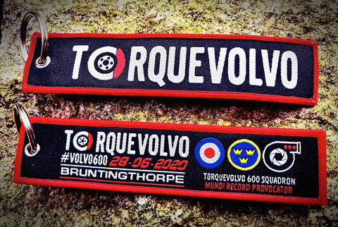 TorqueVolvo Jet Tag (Red Rrows Edition)