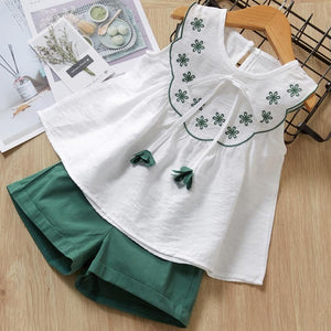 Green Tassel Outfit