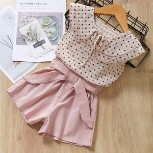 Pink Top n Bottom Outfit