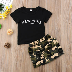 Army Green Skirt Outfit