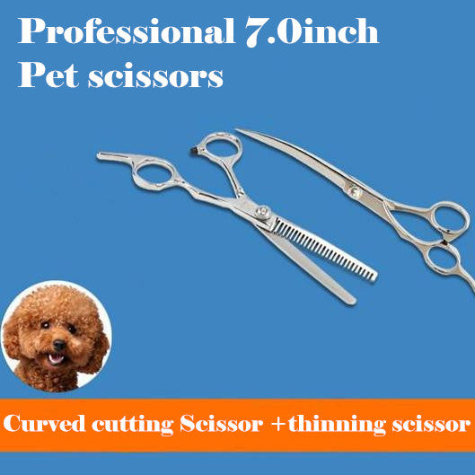 Professional Gold 7 inch hair scissors