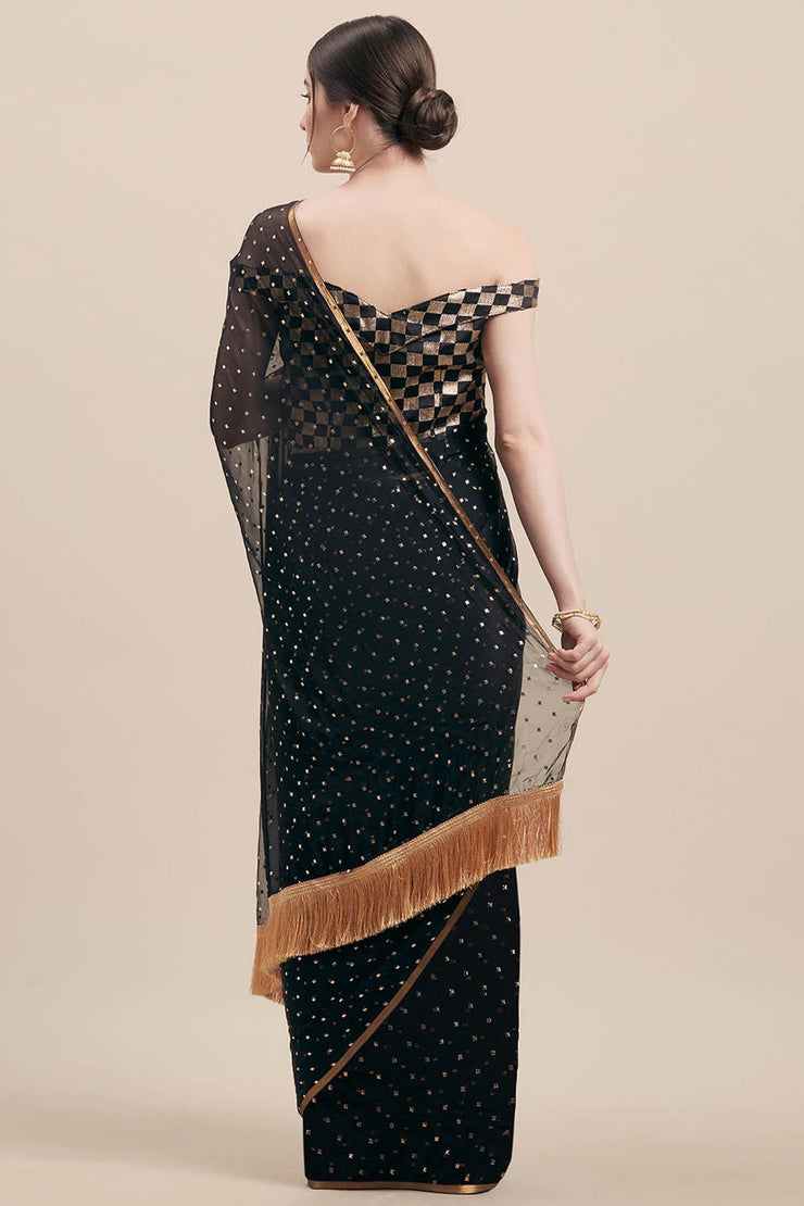 Shop Pure Georgette Sarees Online