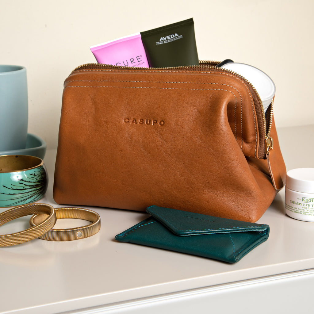 Toiletry bag and wallet