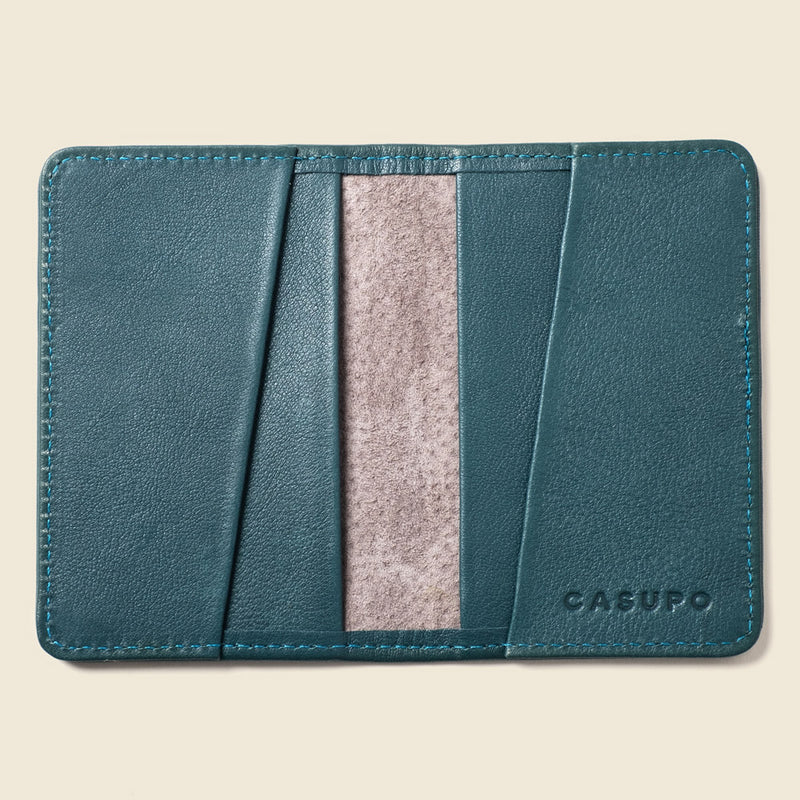 Sustainable leather wallet
