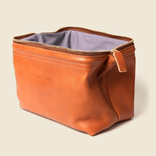 leather dopp kit bag for men