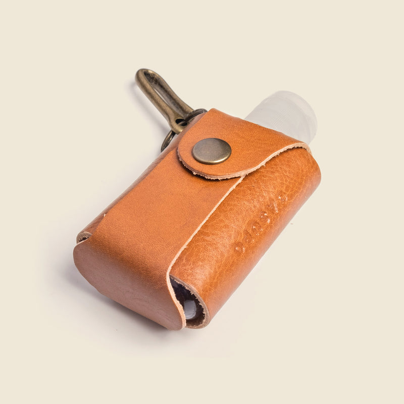 leather case for hand sanitizer