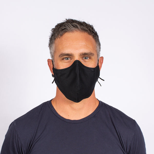 FACE MASK BLACK / GRAPHITE