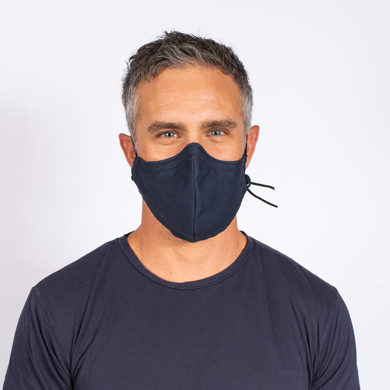 FACE MASK NAVY / BLUE CAMO