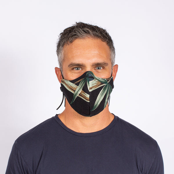 FACE MASK BLACK BAMBOO