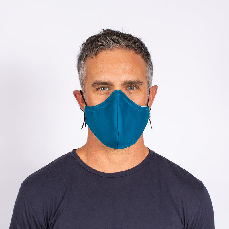 blue mask for men