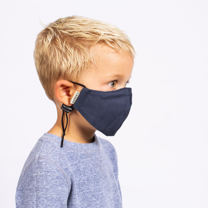 KID'S FACE MASK NAVY