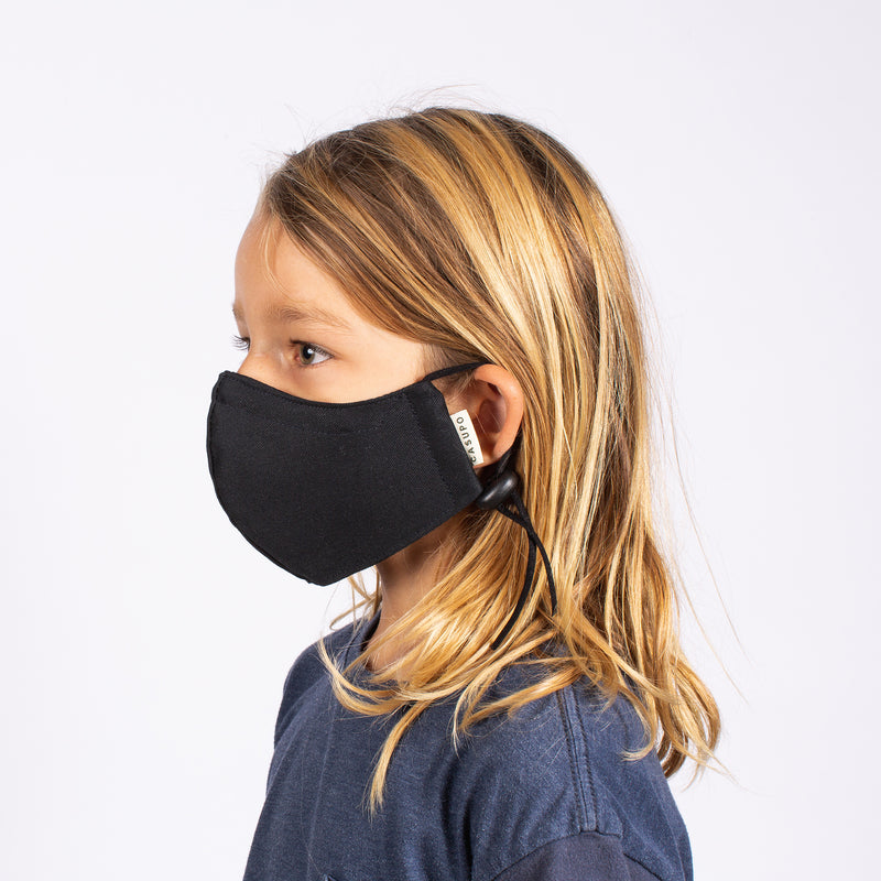 KID'S FACE MASK GRAPHITE